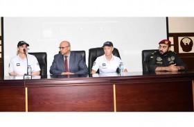 شرطة رأس الخيمة النسائية يتدربن على  التدخل السريع