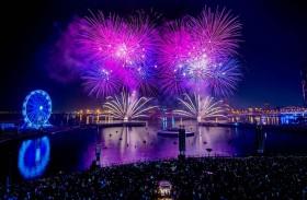 دبي فستيفال سيتي تضيء سماء دبي في حفل استقبال العام الجديد بأربع عروض ساحرة للألعاب النارية