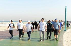 اللواء بخيت يفتتح فعاليات الأسبوع الرياضي لمنطقة دبي الأمنية