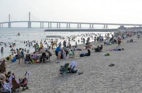 أكثر من مليوني زائر لشواطئ أبوظبي خلال النصف الأول من العام الحالي