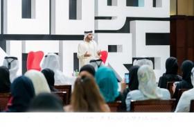 راشد بن حميد يشارك الشباب تجاربه في فنون الإدارة ضمن برنامج « 100 موجه»