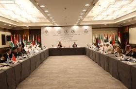 الشعبة البرلمانية الإماراتية تتقدم بمقترحاتها حول تعديل النظام الداخلي للاتحاد البرلماني العربي بالأردن