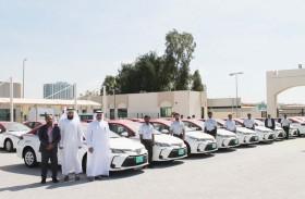 إضافة 30 مركبة هجينة إلى أسطول مركبات أجرة مواصلات الإمارات في عجمان