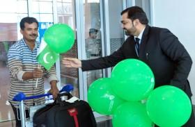 مطار أبوظبي الدولي يحتفي بذكرى استقلال باكستان والهند