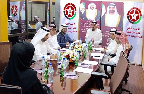 سلطان بن شخبوط يترأس الاجتماع الثاني لمجلس إدارة جمعية الإمارات للرياضات الالكترونية