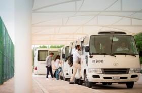 مواصلات الإمارات تنقل أكثر من 10 آلاف طالب جامعي