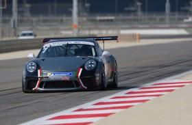 السائقون ينهون اختباراً للسيارة الجديدة قبل بداية الموسم التاسع من تحدي كأس بورشه جي تي 3 الشرق الأوسط في البحرين