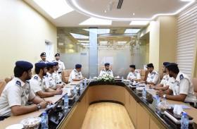 شرطة أبوظبي تدشن شبكة الاتصالات أثير