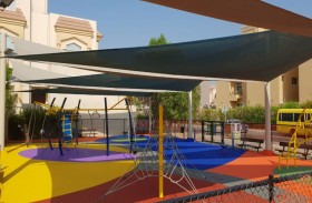 بلدية مدينة أبوظبي تعيد تأهيل منطقتي ألعاب حدائق أحياء سكنية