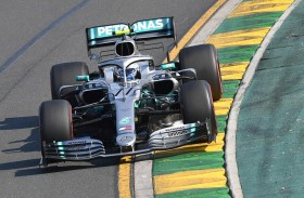 بوتاس يفوز بالسباق الافتتاحي لموسم فورمولا 1