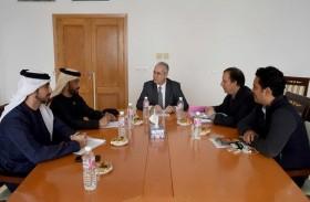 وفد من الداخلية يطلع على نظام الشيخ زايد للاتصالات العصري في تونس