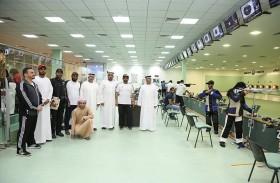 نادي الذيد يبدأ تدريباته للمشاركين في بطولة الرماية لليوم الوطني