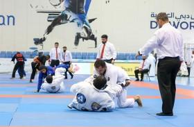 نجاح كبير لبطولة الجوجيتسو في دورة ند الشبا الرياضية
