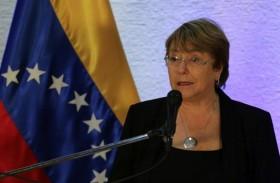 باشليه تدعو للإفراج عن المعارضين في فنزويلا