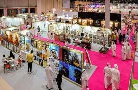 125 فنّاناً إماراتياً وعربياً وعالمياً يعرضون إبداعاتهم في معرض أبوظبي الدولي للصيد