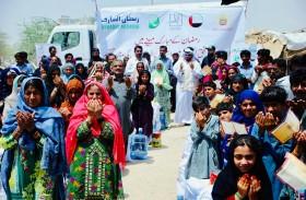 حملة الشيخة فاطمة الإنسانية تدعم الأسر المتعففة بإقليم السند في باكستان