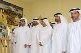 معرض عن الطبيعة والجمال وإنجازات الامارات في نادي مليحه ضمن مبادرات عام الخير