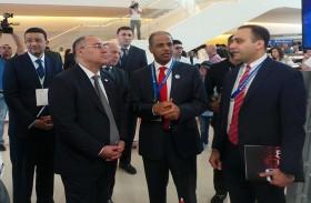 أنشطة وفعاليات موسعة لوفد جمارك دبي المشارك في مؤتمر الجمارك العالمية بأذربيجان
