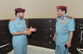 قائد عام شرطة رأس الخيمة يعتمد مبادرة الإسناد القانوني