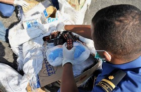 1628 ضبطية مخدرات جهود جمارك دبي في تطوير قطاع التفتيش الجمركي في 2017 بزيادة 21%