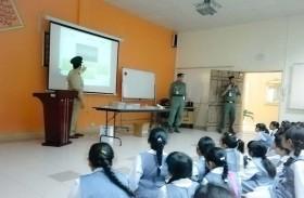 شرطة دبي تنظم محاضرة حول التعامل مع الأزمات والكوارث