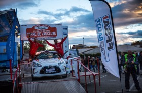 فاز بست مراحل وتوّج بذهبية رالي فوكلوز الفرنسي ضمن فئة آر3