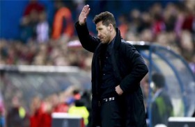 سيميوني يحسم مستقبله مع أتلتيكو مدريد
