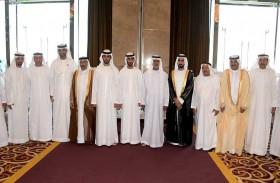 نهيان بن مبارك يحضر أفراح الحاي والفطيم في دبي