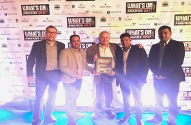 دا فنشيز في فندق ملينيوم المطار دبي يفوز بجائزة واتس أون دبي 2017