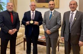 بحث علاقات التعاون بين البرلمان البرتغالي  و المجلس العالمي للتسامح والسلام