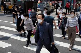 كوريا الجنوبية تسجل أعلى إصابات بكورونا منذ شهرين