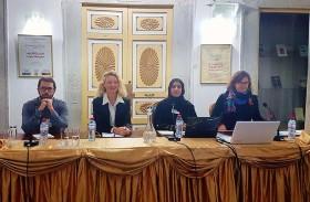 طالبة بجامعة زايد تشارك في مؤتمر دولي حول أثر تطور تكنولوجيا الاتصال على التحولات الإعلامية