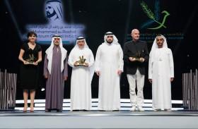 أحمد بن محمد يكرم الفائزين بالدورة الأولى من جائزة محمد بن راشد آل مكتوم للتسامح