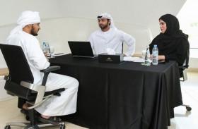 حديقة الحيوانات بالعين تجري المقابلات مع المتقدمين للعمل من معرض توظيف أبوظبي 2020