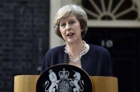 ماي تتعهد بقيادة هادئة لبريطانيا