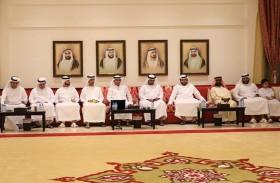 مجلس شرطة أبوظبي بالفقع يناقش تعزيز السلامة المرورية