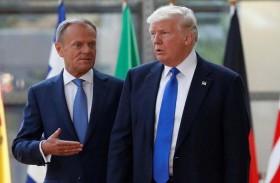 الاتحاد الأوروبي يدعو ترامب الى حماية النظام العالمي
