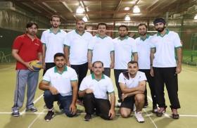هيئة كهرباء ومياه دبي تنظم البطولة الثالثة لموردي الهيئة لألعاب الكريكيت والكرة الطائرة والبولينغ