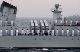 سفن صينية تجري تدريبات مشتركة في ميانمار