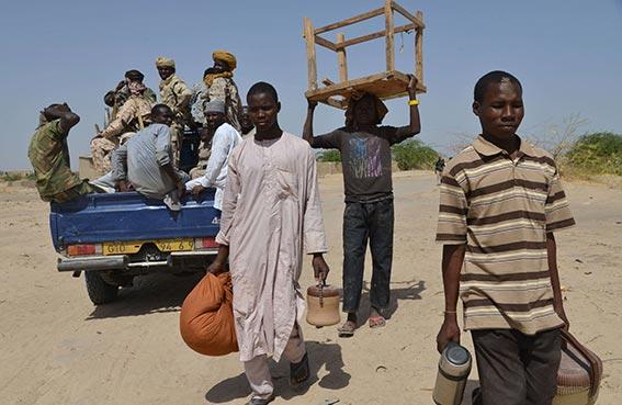 آلاف المهجرين من بوكوحرام يعانون الإهمال