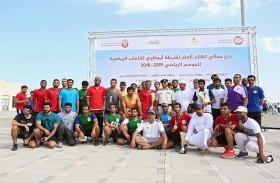ضمن درع القائد العام… الأمن الجنائي بشرطة أبوظبي بطلاً لسباق الطريق للرجال