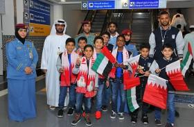 شرطة أبوظبي تشارك البحرينيين الاحتفاء بيومهم الوطني