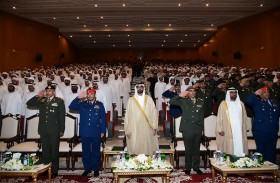 البواردي يشهد تخريج دورتي الجامعيين الـ36 والوكلاء التأهيلية لضباط العاشرة