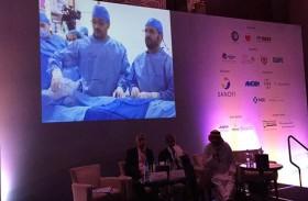 بث مباشر لعملية قسطرة قلبية من مستشفى دبي إلى مؤتمر عالمي