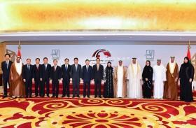 القبيسي تستقبل رئيس محكمة الشعب العليا في الصين