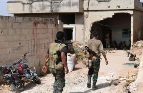 تنظيمات متشددة تشارك في قتال حماة بسوريا