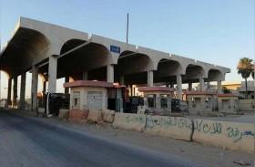فتح المعبر الحدودي بين سوريا والأردن