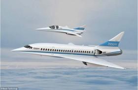 طائرات الركاب الأسرع من الصوت تضر البيئة