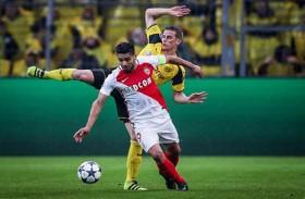 موناكو يتلاعب بدورتموند ويحجز مقعده في نصف النهائي