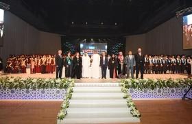 محمد خلفان الرميثي يشهد حفل تخريج الفوج الِـ 31 لطلبة وطالبات مدارس النهضة الوطنية في أبوظبي